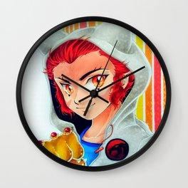 Leon O, by Suki Manga Art Wall Clock