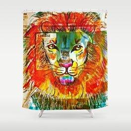 Lion Heart Shower Curtain