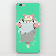 Mega Uncomfortable Slowbro iPhone & iPod Skin