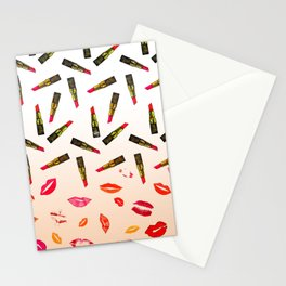 Lipstick Shades Stationery Cards