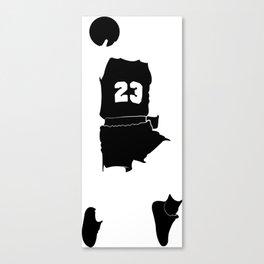 Faceless Basketball MJ Jordan Canvas Print