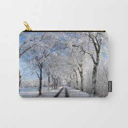 Winter-avenue Carry-All Pouch