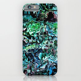 Turquoise Garden of Glass iPhone Case