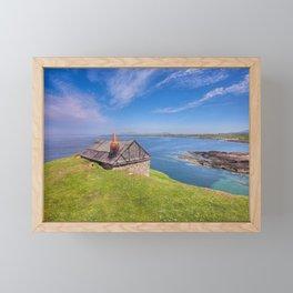 Fisherman`s Hut Framed Mini Art Print