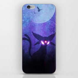 Espeon Space Silhouette iPhone Skin