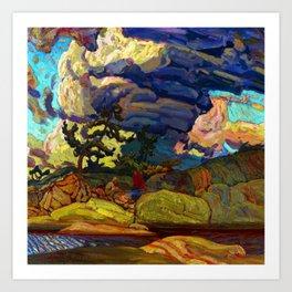 J.E.H. MacDonald The Elements Art Print