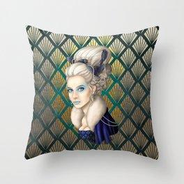 The Bluebird Renaissance Throw Pillow