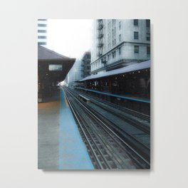 Quincy Station Metal Print