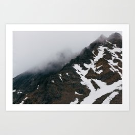 Mount Ruapehu Peak Art Print