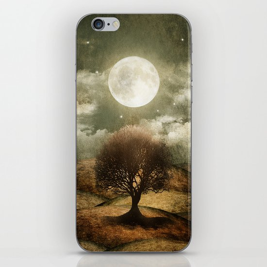 Once upon a time... The lone tree. iPhone & iPod Skin