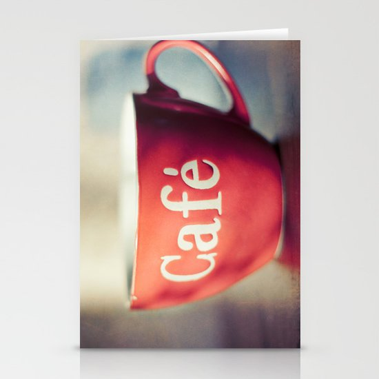 Café Stationery Cards