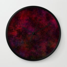 LOVE OR LEAVE Wall Clock