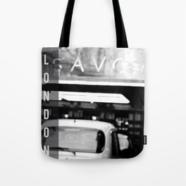 London Savoy hotel Tote Bag