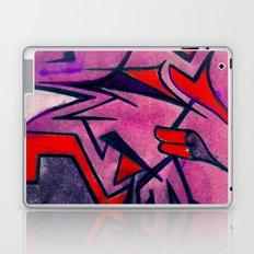 shuteye in red Laptop & iPad Skin