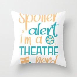 Theatre Actor Gift Opera Stage Ensemble Throw Pillow