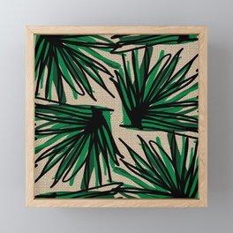 Beautiful Weaving Grass Framed Mini Art Print