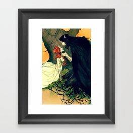 Hades and Persephone IV Framed Art Print