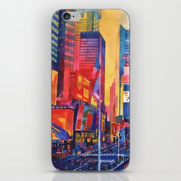 Times Square New York iPhone Skin