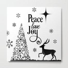 peace and joy Metal Print