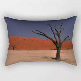 Haunting Deadvlei Namibia Africa Rectangular Pillow