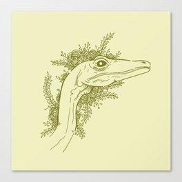 Composognathus Canvas Print