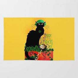 St Patrick's Day - Le Chat Noir Rug