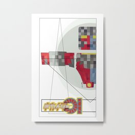 Kikaida 01  Metal Print