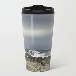 January storm wave Travel Mug
