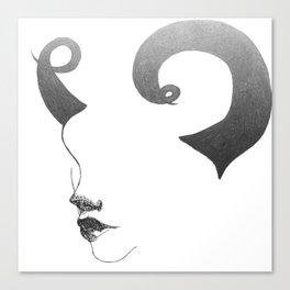 horns. Canvas Print