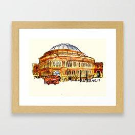 Royal Albert Hall, The Proms Framed Art Print