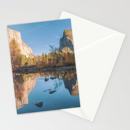 Yosemite Valley Reflections Stationery Cards