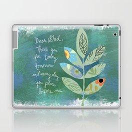 Thank you God (Leaf art) Laptop & iPad Skin