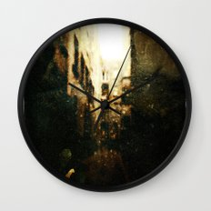 In The Comfort Of Shadows Wall Clock