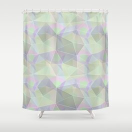 Polygonal pattern. Shower Curtain