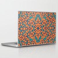 climbing Laptop & iPad Skins featuring Climbing Waltz by GEETIKAGULIA
