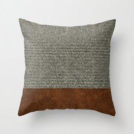 Scandinavian Modern Throw Pillow