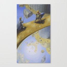 Duel on the Bridge  Canvas Print