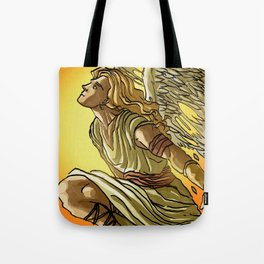 icarus flying near the sun Tote Bag