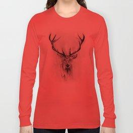 Red Deer Long Sleeve T-shirt