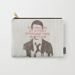 Strange Time Carry-All Pouch