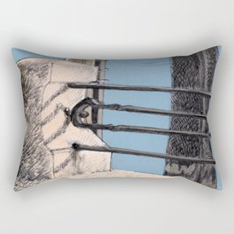 Baveno Dock, Northern Italy Rectangular Pillow