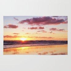 Sunset in Newport Beach Rug
