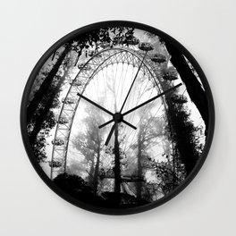Forest Wheel Wall Clock