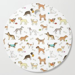 Breeds of Dog Cutting Board