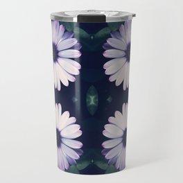 Pristine Petal Pattern Travel Mug