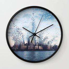 Citiescape Wall Clock