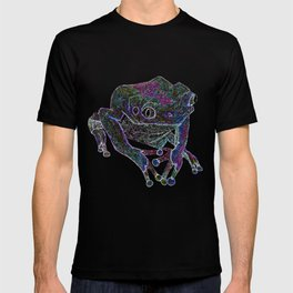 Psychedelic Giant Monkey Frog T-shirt