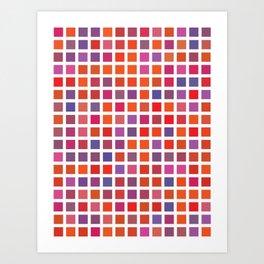 City Blocks - Love #947 Art Print