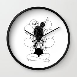 Everyone Hates Me Wall Clock
