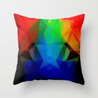 frog Throw Pillows featuring FROG by ED design for fun